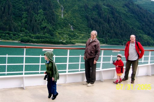 Alaska: tillmen on the ship