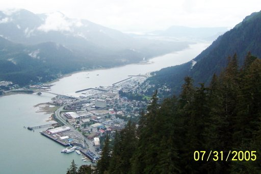 Alaska: Juneau from above