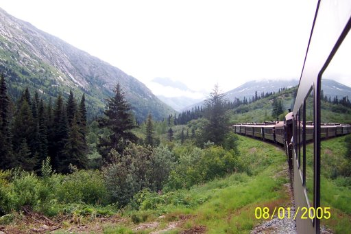 Alaska: White Pass Railroad in Skagway