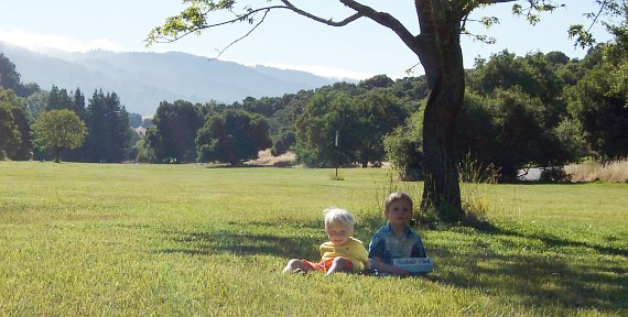 twins in Foothills Park