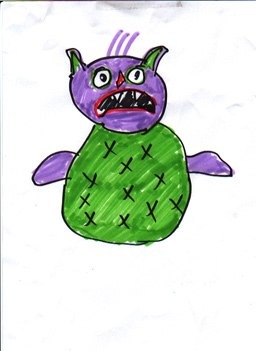 monster drawing 6